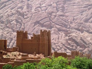 Mountainous Kasbah